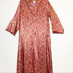 Oscar de la Renta Pink Label Southwest Dressing